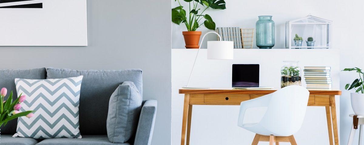 petit bureau scandinave