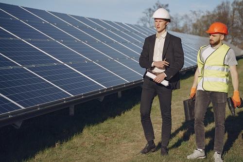 une entreprise photovoltaïque à Grenoble